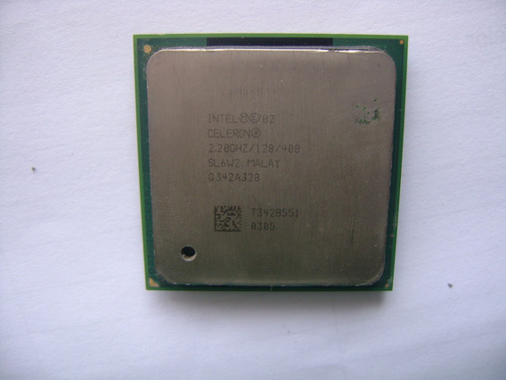 Processador 2.2ghz Intel Celeron 128 400 478 Sl6w2 A72-18
