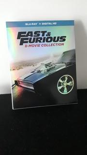 Colección De Películas Fast & Furious