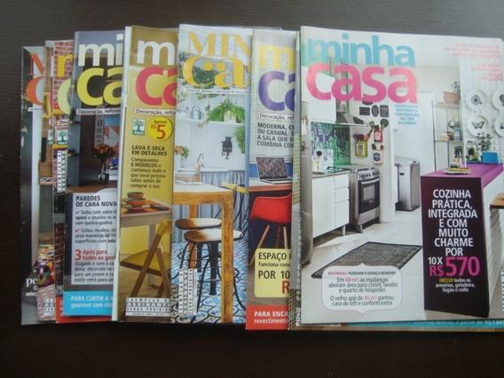 10 Revistas Minha Casa - Arquitetura E Decoracao