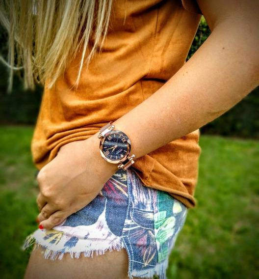 Relógio Feminino Curren 9063 Importado Original