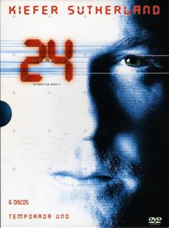 24 ( Temporada 1 Completa ) Digipack - 6 Dvds Originales