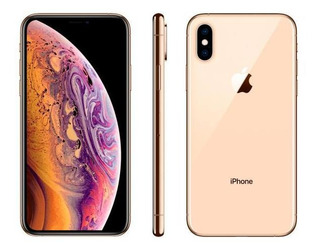 iPhone Xs Apple 64gb Ouro 4g Tela 5,8 Retina-câmera Dupla