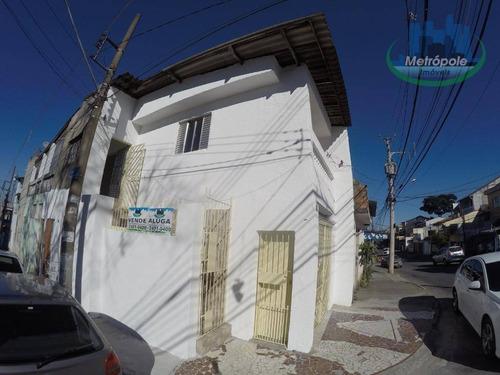 Imagem 1 de 30 de Casa À Venda, 200 M² Por R$ 400.000 - Jardim Bela Vista - Guarulhos/sp - Sp - Ca0156_metrop