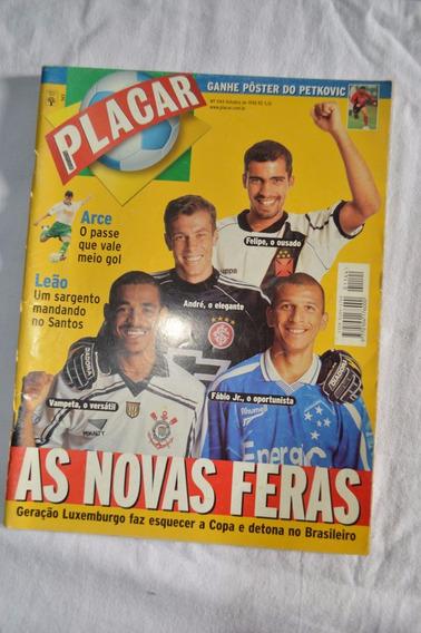 Revista Placar #1144 - Out/98 - As Novas Feras, Com Posters