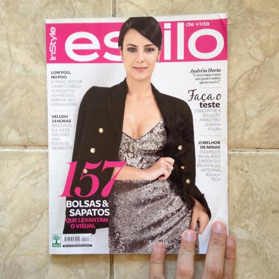 Revista Estilo De Vida 163 Abril 2016 Andréia Horta Bolsos