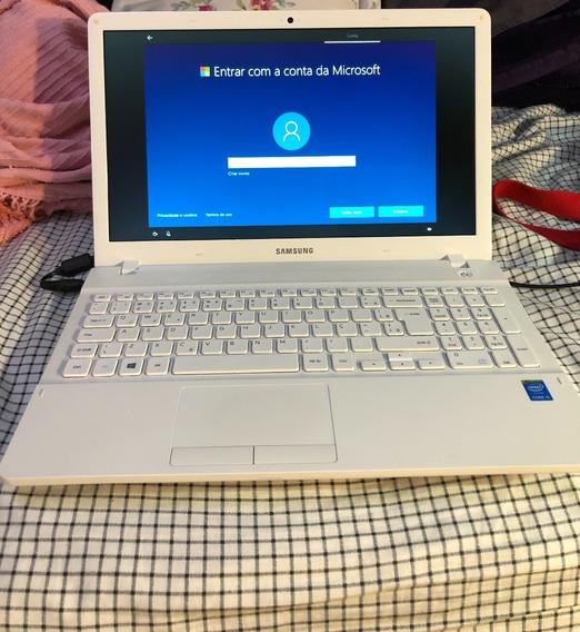 Notebook Samsung Branco Corei5 Tela 15,6 , Dvd-rw, 8gb E 1tb