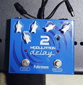 Pedal Guitarra Modulation Delay 2