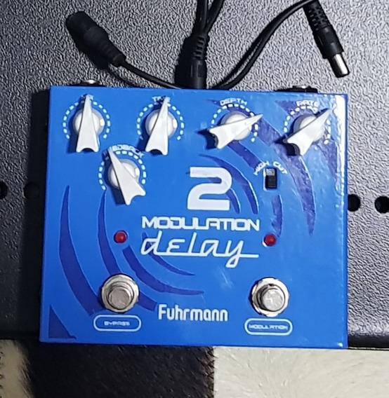 Pedal Guitarra Modulation Delay 2