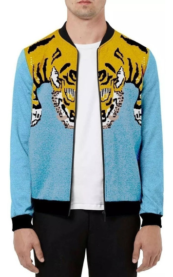 Jaqueta Blusa 2019 Tigre Tiger Griffe Supreme Lil Pump Lean