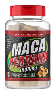 Maca Peruana 1000mg 180cp Benefícios Para Homens E Mulheres