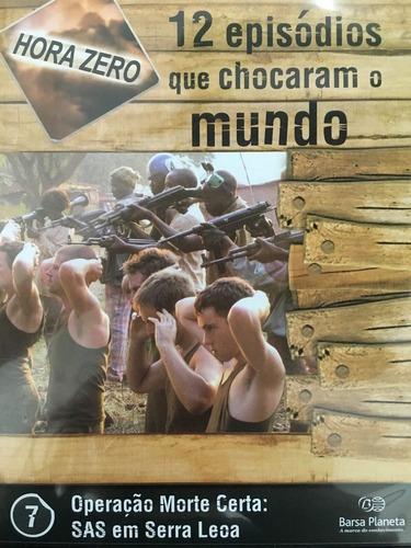 Imagem 1 de 1 de Dvd Operação Morte Certa Sas Em Serra Leoa Original + Brinde