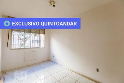 Apartamento No 2º Andar Com 1 Dormitório - Id: 892907519 - 207519