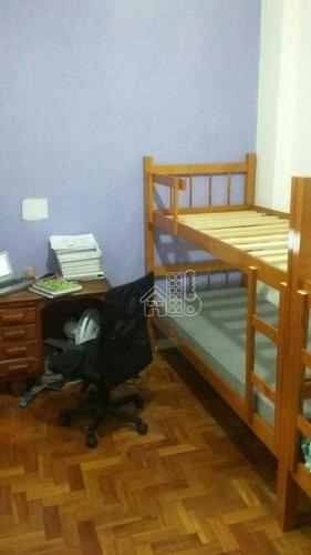 Apartamento Residencial À Venda, Icaraí, Niterói. - Ap0788
