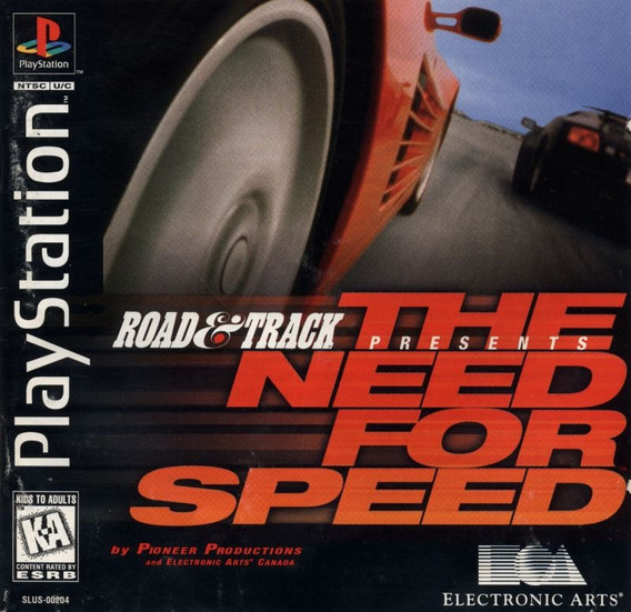 The Need For Speed - Playstation 1 - Ps1 - Psx - Psone Cd