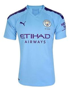 Nova Camisa Manchester City Temporada 2019 2020 Titular