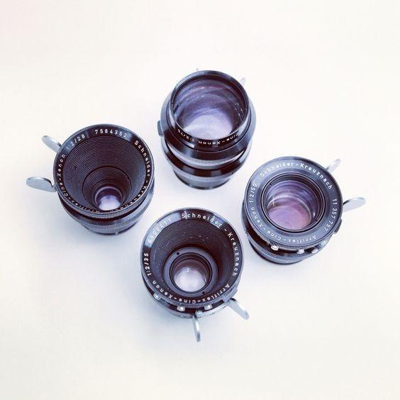 Kit Lentes Xenon Vintages 18, 28, 35, 40, 50, 75 E 100