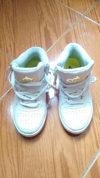 Tênis Logus Branco - No 35 - Usado Poucas Vezes