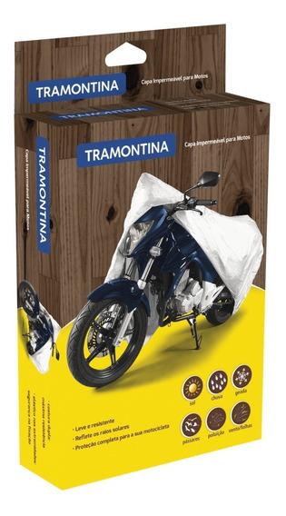 Capa Para Moto Impermeável Tamanho P Tramontina
