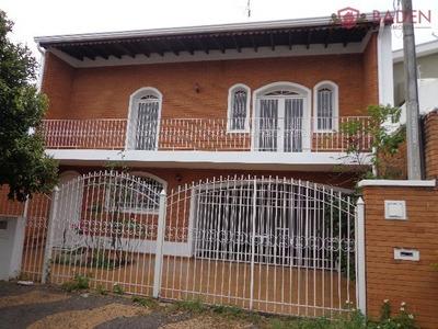 Casa Residencial / Comercial Em Campinas - Sp, Jardim Proença - Ca00944