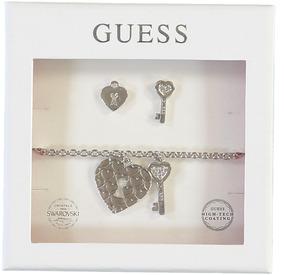 Set Love Keys Oro Rosa Guess Jewellery