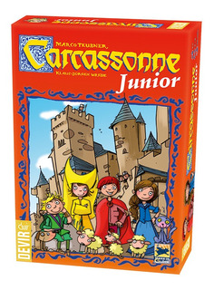 Carcassonne Junior - Devir - Juego De Mesa