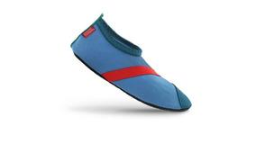 Zapatos Deportivos Acuaticos Para Niños. Azules. Talla Gde