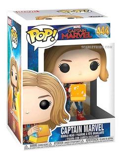 Funko Pop Captain Marvel 444 Glow Orig Funko Scarlet Kids