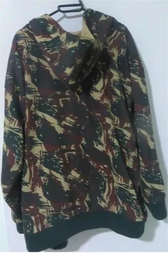 Jaqueta Camuflada Moletom Exército Tenho De Pp A Gg