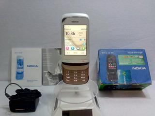 Nokia C2-02-1 Dorado/blanco Movistar ··envío Gratis ··