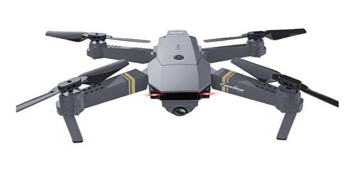 Imagem 1 de 1 de Drone Eachine E58 com câmera HD prateado 2.4GHz