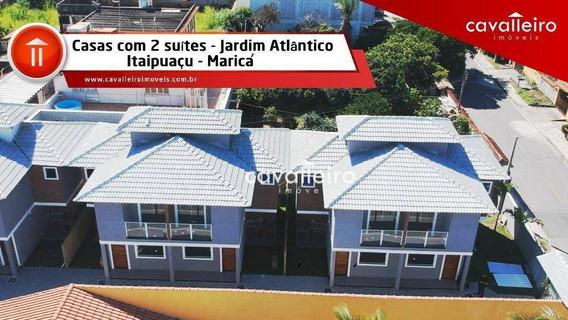 Ótimas Casas Duplex Com Vista Para Mar - Ca3329