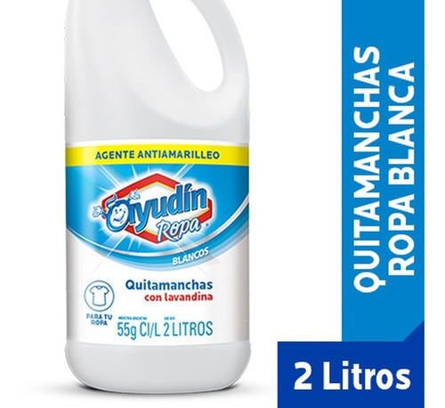Ayudín Quitamanchas Blancos Intensos 2 L