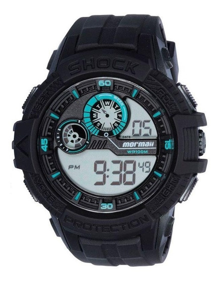 Relógio Digital Mormaii Masculino Mo3900/8f