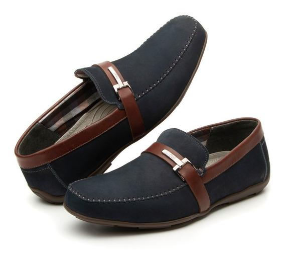 Calzado Zapato Flexi 68615 Negro Azul Oficina Vestir Salir