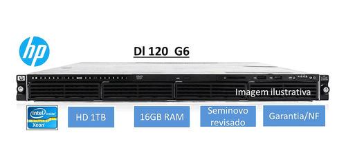Servidor Rack 1u Hp Dl120 G6 Hd 1tb  16gb