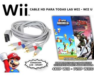 Cable Conexion Componente Lcd Smart Nintendo Wii - Wii U