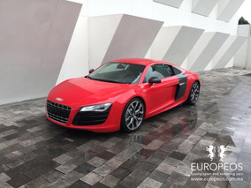 Europeos.com.mx Audi R8 5.2l V10 Quattro R-tronic At 2010