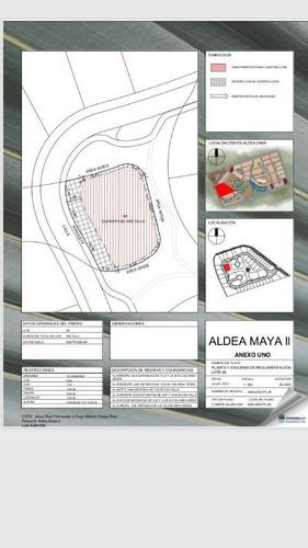 Imagen 1 de 1 de Terreno En Aldea Zama, Aldea Maya Ii