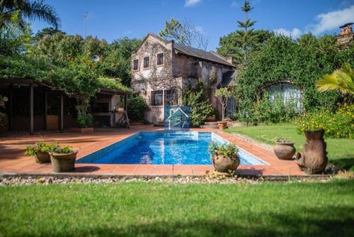 Casa En Rincón Del Indio, 3 Dormitorios Y Gran Jardín- Ref: 1513