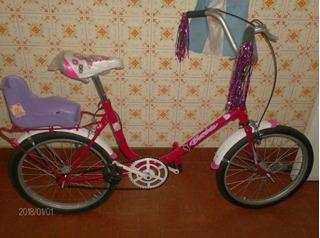 Bicicleta Con Porta Muniecas No Envios