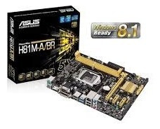 Kit Placa Mãe H81m-k Box + Core I5 4570s 2,9 Ghz + 8g Hyperx
