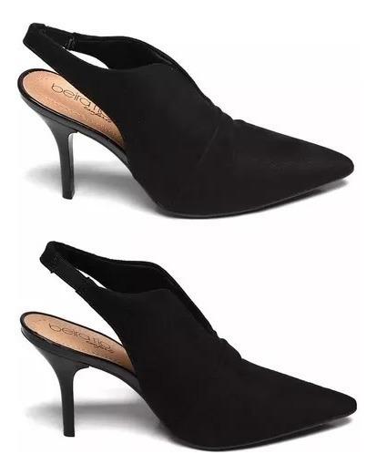 Sapato Mule Scarpan Feminino Bico Fino Beira Rio 4122960