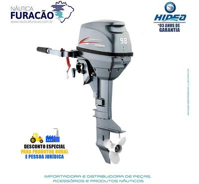 Motor De Popa Hidea 2 Tempos 9.8hp Fhs