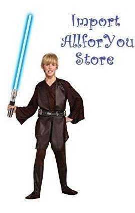 Disfraz Anakin Star Wars Niño Americano Tallas 4/6 12/14