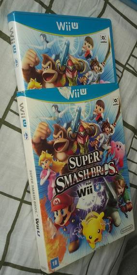 Super Smash Bros. For Wii U - Com Luva Em Português
