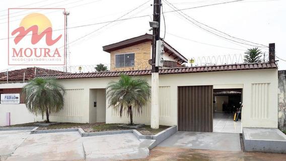 Casa Com 3 Dormitórios À Venda, 185 M² - Jardim Felicidade - Macapá/ap - Ca0308