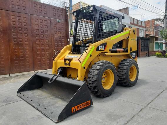 Minicargador Caterpillar 236b Turbo Diesel Llantas Nuevas