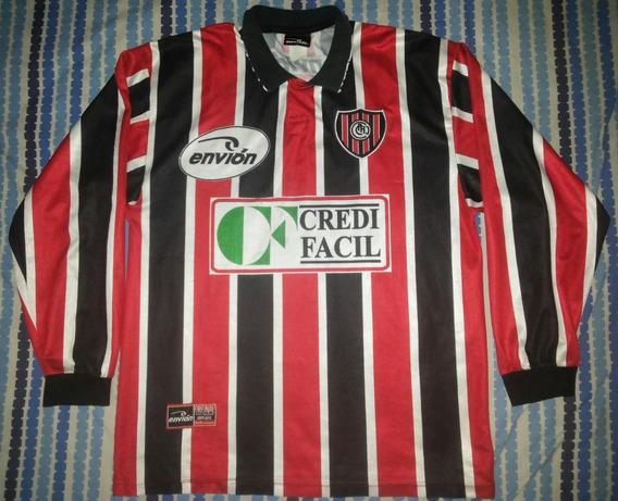 Camiseta De Chacarita Jrs. Envion 2000/2001 #6 Mangas Largas