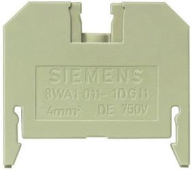 Conector 4.0mm Siemens 8wa1011-1dg11 Kit 5pçs