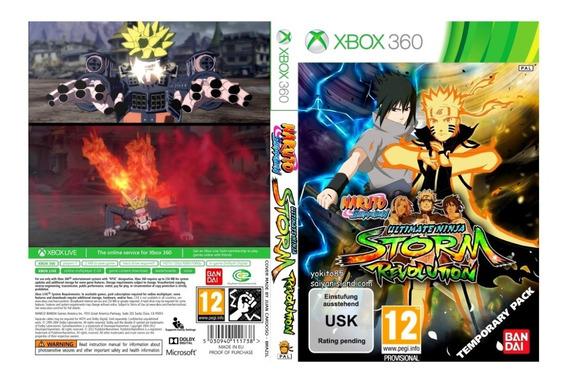 Naruto Revolution Pra Xbox 360 Mídia Física (ler Descrição)
